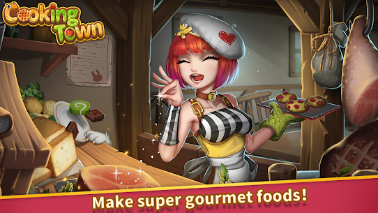 Cooking Town: Chef Restaurant Cooking Game Mod Apk 1.2.0 (Unlimited Diamonds) 1