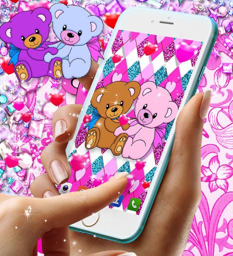 Teddy bear live wallpaper apktram screenshots 7
