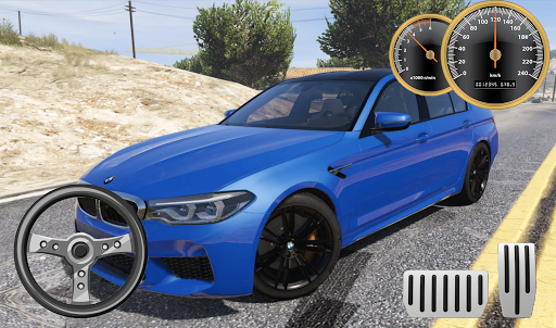 Drive BMW M5 & Parking School android2mod screenshots 3