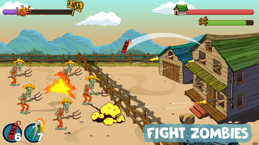 Zombies Ranch. Zombie shooting games screenshots 1