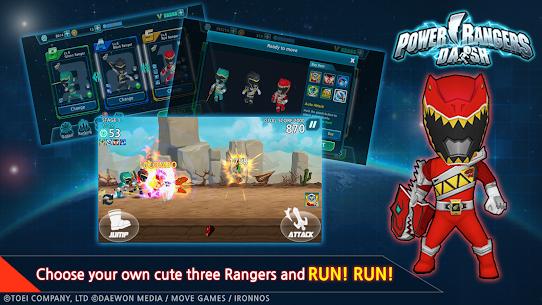 Power Rangers Dash MOD APK 1