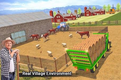 Modern Farming Simulation  Tractor  Drone Farming Apk 4