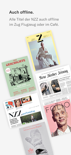 NZZ E-Paper modavailable screenshots 3