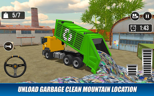 Offroad Garbage Truck: Dump Truck Driving Games 1.1.6 screenshots 16