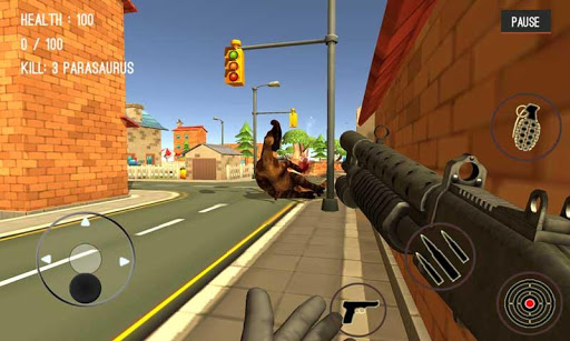 Dinosaur Hunter Dino City 2017  screenshots 6