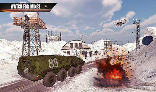 army truck driving truck simulator: driving games screenshot 2