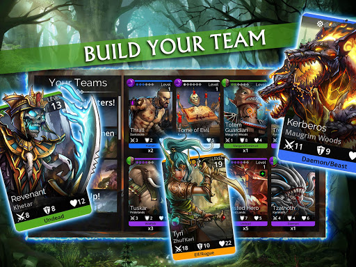 Gems of War - Match 3 RPG screenshots 14