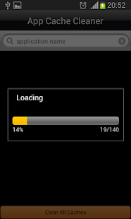 App Cache  Cleaner Screenshot