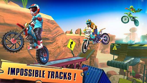 Télécharger course vélo d'essai: xtreme stunt bike jeux course mod apk screenshots 2