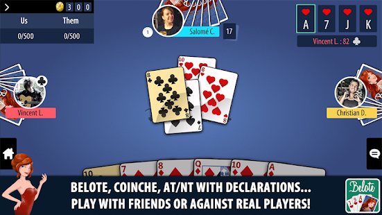 Belote Multiplayer Screenshot