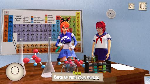Anime High School Girl: Sakura School Simulator 1.1 screenshots 2