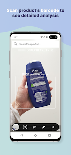 CodeCheck: Food & Cosmetic Product Scanner Screenshot