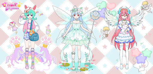 Vlinder Princess - Dress Up Games, Avatar Fairy screenshots 2