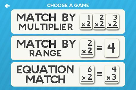 Multiplication Flash Cards Games Fun Math Practice Apk Download 5