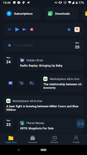 Moon FM - Podcast & Radio Player  screenshots 3