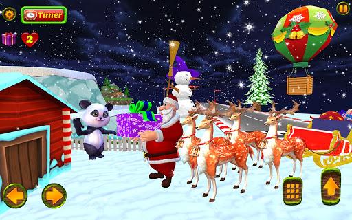 Santa Christmas Infinite Track screenshots 12