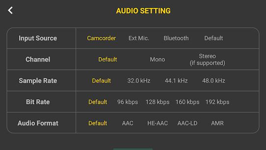 4K Camera Filmmaker Pro Camera Movie Recorder v1.6 [Paid] 3