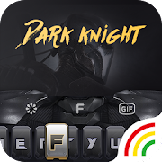 Dark Knight Keyboard Theme