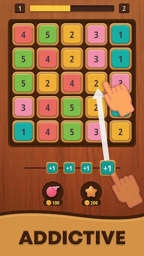Mergezilla - Number Puzzle Apkfinish screenshots 2