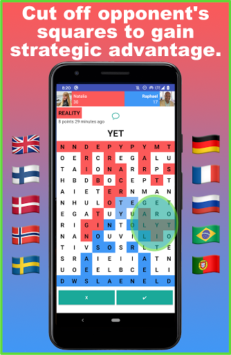 Battlexic - Strategic Words Search With Friends apkmr screenshots 2