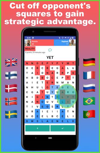 Battlexic - Strategic Words Search With Friends 4.6.5 screenshots 2