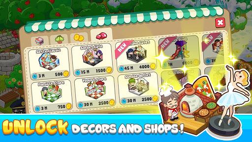 Code Triche jeu de restaurant - jeu de café restaurant magnat (Astuce) APK MOD screenshots 6