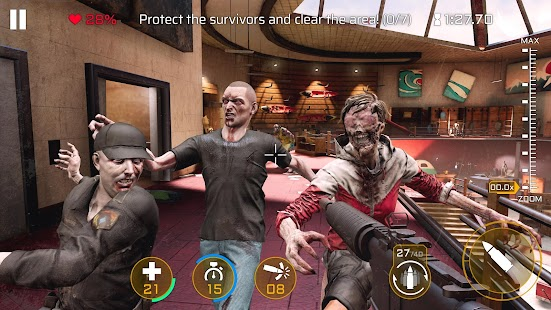 Kill Shot Virus: Zombie FPS Shooting Game Screenshot