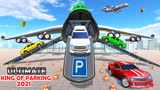 Airplane Car Parking Game: Prado Car Driving Games 2.0 screenshots 7