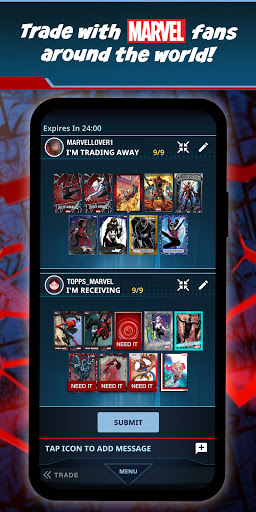Marvel Collect! by Toppsu00ae Card Trader screenshots 2