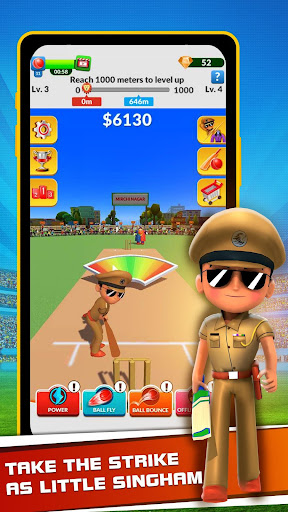 Little Singham Cricket  screenshots 2