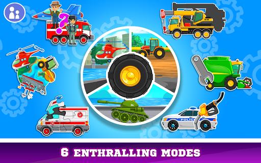 Kids Cars Games! Build a car and truck wash!  screenshots 15