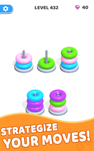 Color Hoop Stack - Sort Puzzle 1.0.3 screenshots 10
