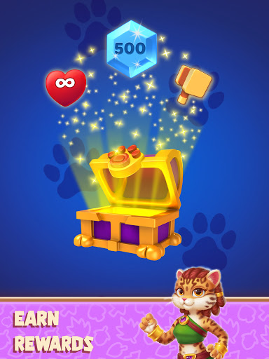 Cat Heroes - Color Match Puzzle Adventure Cat Game  screenshots 13