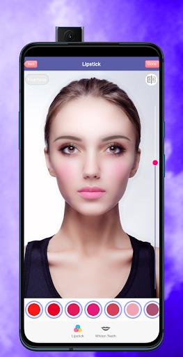 Face Makeup & Beauty Selfie Makeup Photo Editor 1.2 Screenshots 4