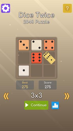 Dice Twice: 2048 Puzzle apk 1.1.13 screenshots 1