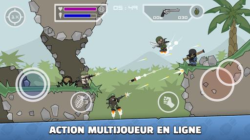 Télécharger Gratuit Mini Militia - Doodle Army 2 APK MOD (Astuce)