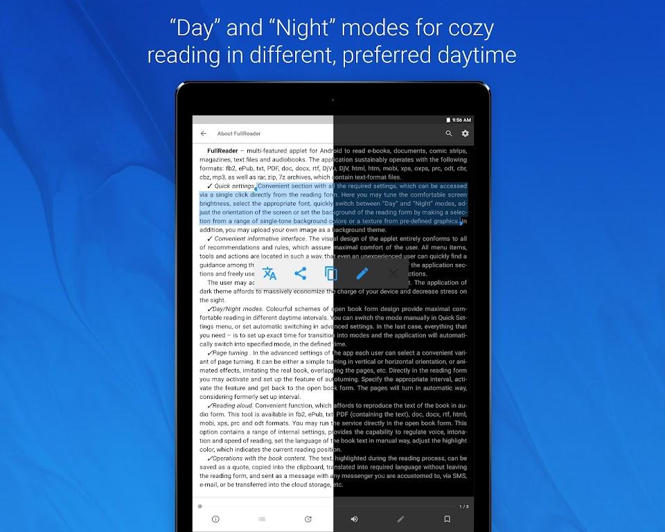 FullReader - all e-book formats reader  poster 13