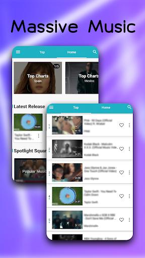 Blue Music - Enjoy Your Music World 4.2.0 Screenshots 3