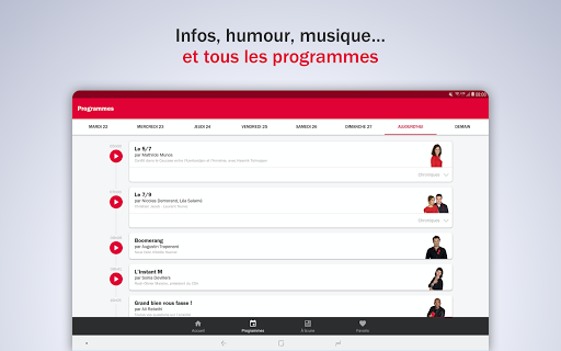 France Inter - radio, podcasts, actu 6.0.0 screenshots 9