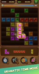 Wood block puzzle - Jewel blast