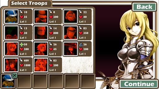 Army of Goddess Defense - Against Darkness Apkfinish screenshots 5