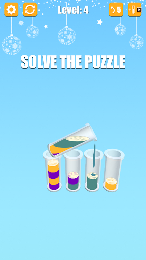 Water Sort: Liquid Puzzle 3D 1.9 screenshots 1