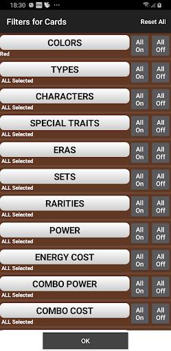 Database for Super Ball Dragon TCG 1.75 screenshots 8