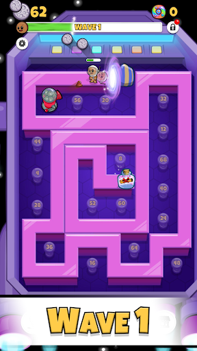Cookies TD - Idle TD Endless Idle Tower Defense screenshots 3