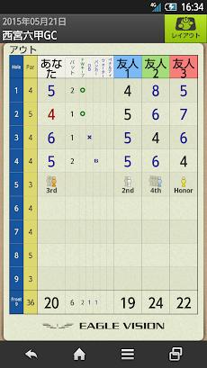 Golf Navi(ゴルフナビ) EAGLE VISIONのおすすめ画像5