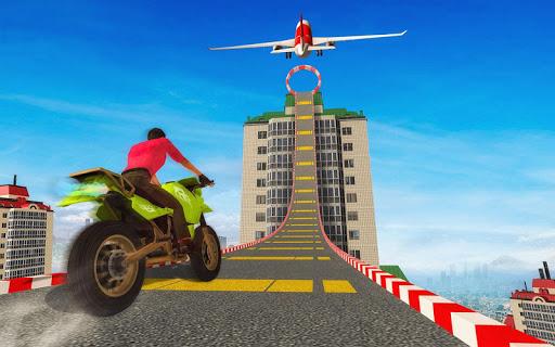 Sky bike stunt 3d | Bike Race u2013 Free Bike Games  screenshots 1