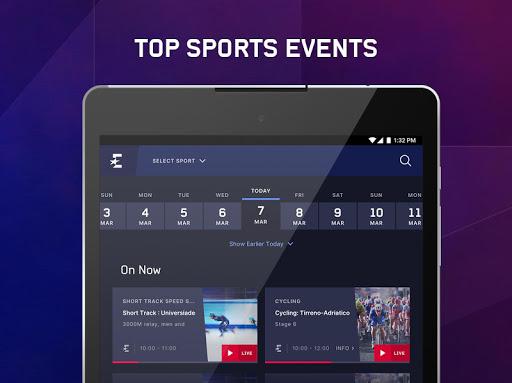 Eurosport Player - Live Sport Streaming App modavailable screenshots 8