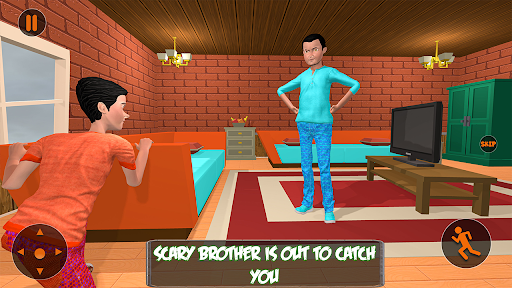 Scary Brother 3D - Siblings New family fun Games apkdebit screenshots 3