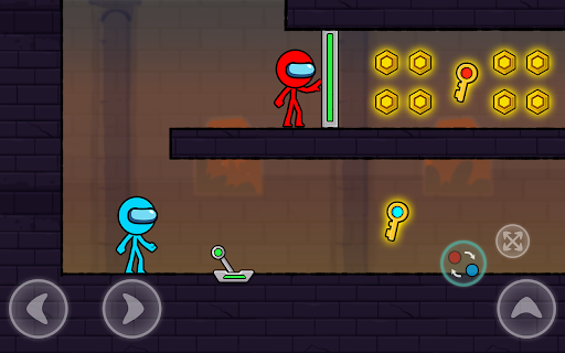Red and Blue Stickman : Season 2 android2mod screenshots 17
