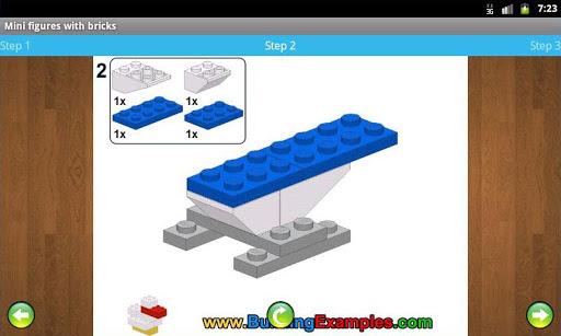 Mini figures with bricks  screenshots 5